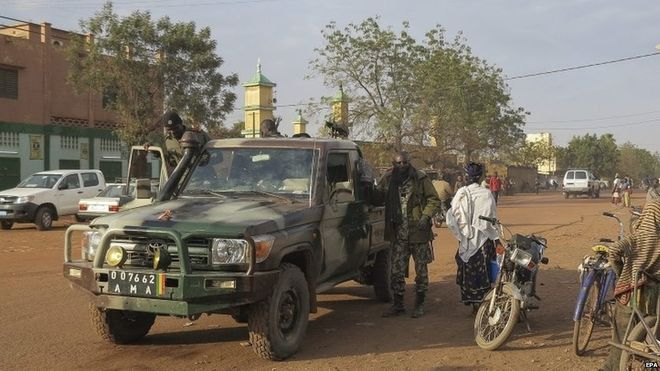 UN troops took over responsibility for security in Mali after France's intervention in 2013