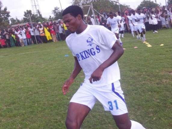 Noah Martey scored for Bechem United