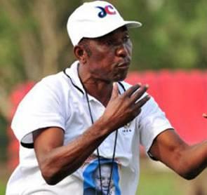Ebusua Dwarfs Coach J.E Sarpong