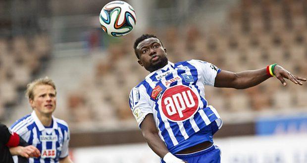 Ghana and HJK defender Gideon Baah