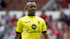 Jordan Ayew has been handed a start for Aston Villa in their English Premier League match against Manchester United on Friday night despite criticism of the Ghanaian striker's performance in his debut for the club last week.