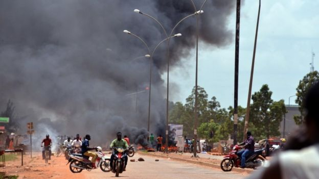 Burkinabe coup
