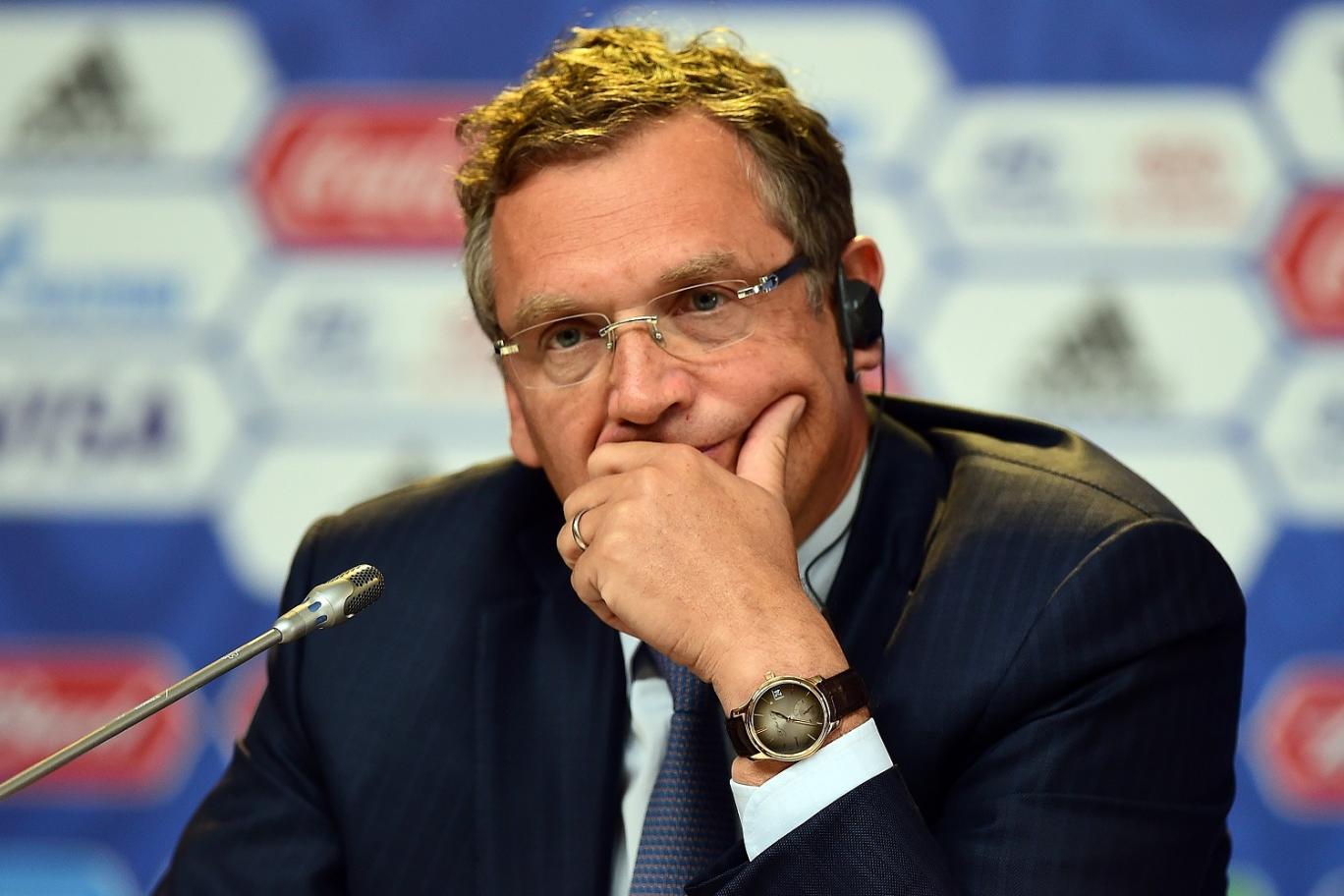 FIFA general secretary Jerome Valcke