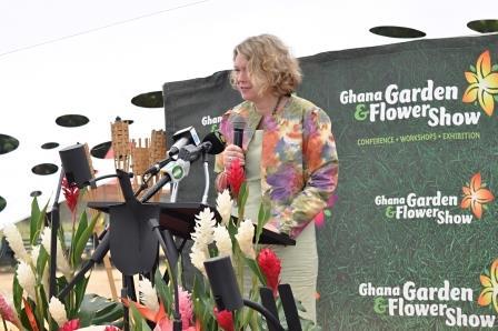 Ms. Tove Degnbol, Danish Ambassador at the opening ceremony