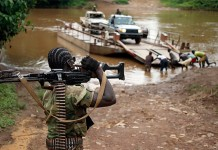 Soldiers in Central African Republic