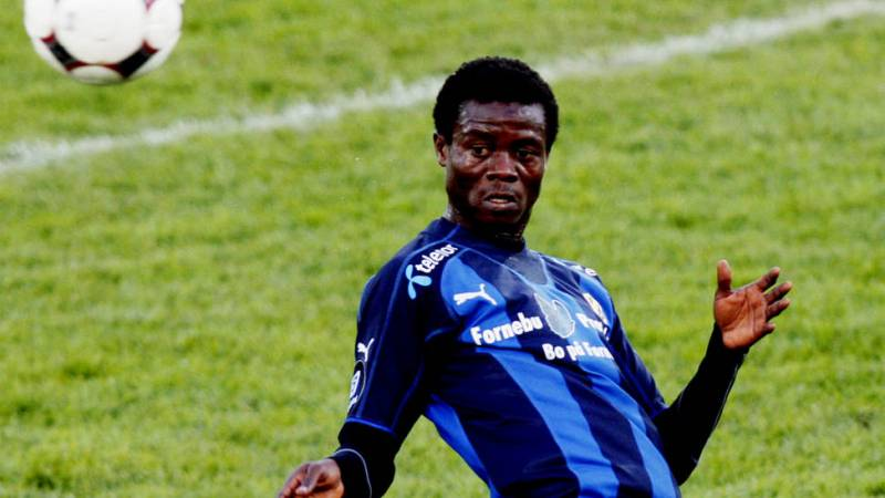 Anthony Annan made his debut for Stabaek