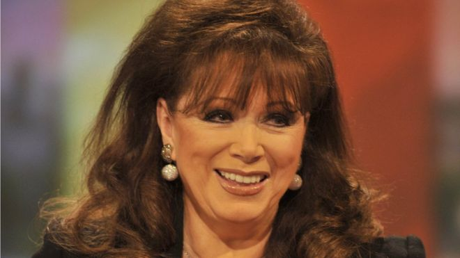 Jackie Collins lived in Los Angeles