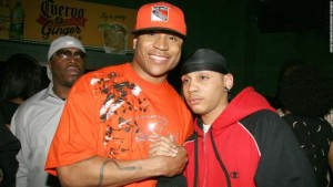 LL Cool J and his son Najee Smith