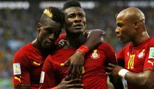 Ghana's top male players have hailed their female counterparts who became first time winners of the African Games football tournaments following Friday's finals in Brazzaville.