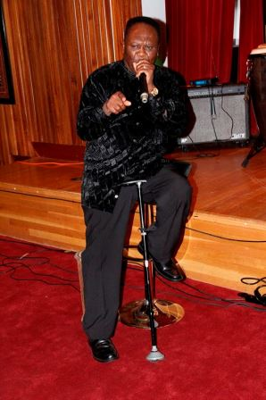 AB Crentsil performs at Ghana Embassy launch