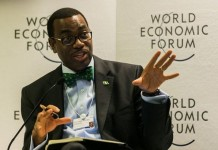 President of the African Development Bank (AfDB) Akinwuni Adesina