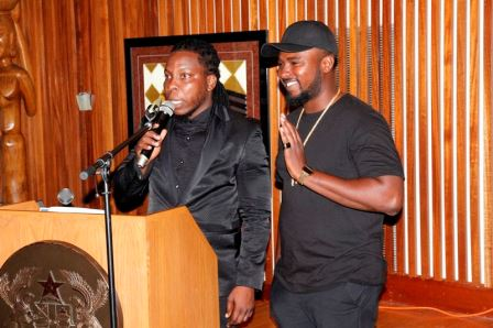 Edem and GAsmilla at DC Launch 2