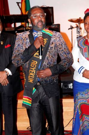 Ghana Music-Tourism Ambassador Award winner Yaw Akili Agyemang