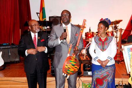 Ghana Music-Tourism Ambassador Award winner
