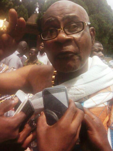 Chief of Begoro, Daasebre Awuah Kotoko ll