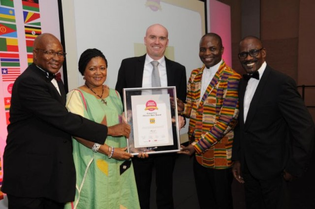 MTN wins Grand Prix Award as Africa's Best Brand