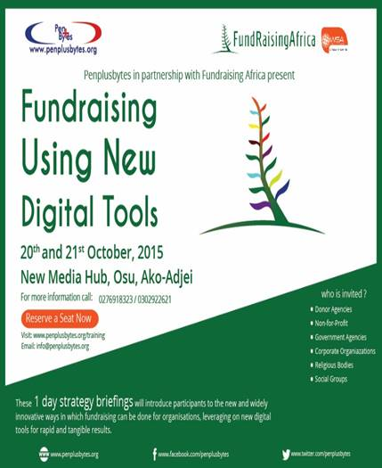 fundraising using digital tools