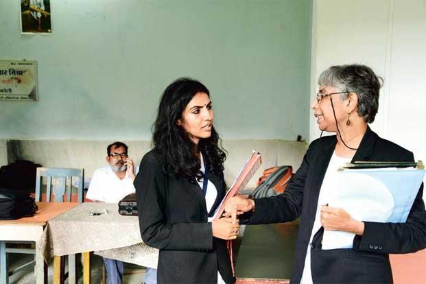 human rights lawyer Ms Shalini Gera