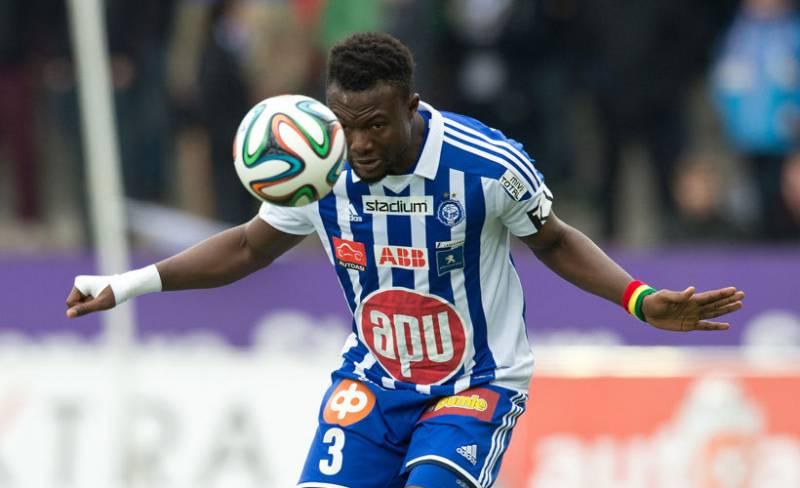 Ghana and HJK Helsinki midfielder Gideon Baah