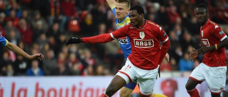 Benjamin Tetteh scored for Standard Liege