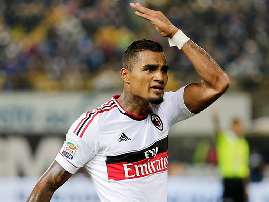 Kevin Boateng on Milan return