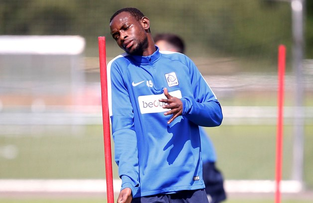 Kumordzi trained with the Genk squad for the first time in almost a year