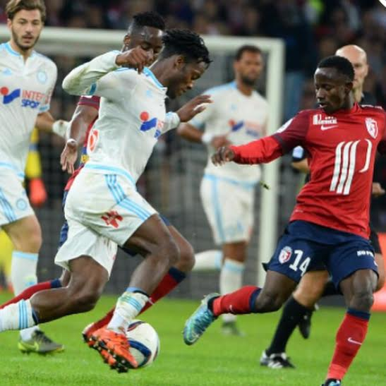 Yeboah made his Ligue 1 debut against Marseille