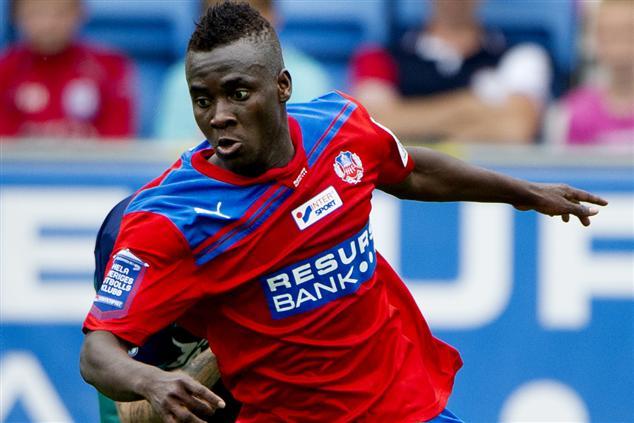 Ghana forward David Accam