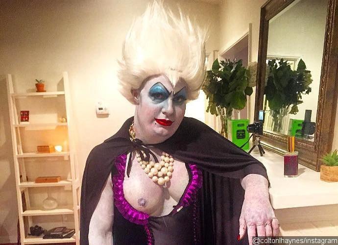 colton-haynes-completely-unrecognizable-in-ursula-the-sea-witch-costume