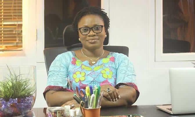 Mrs Charlotte Osei, EC Boss