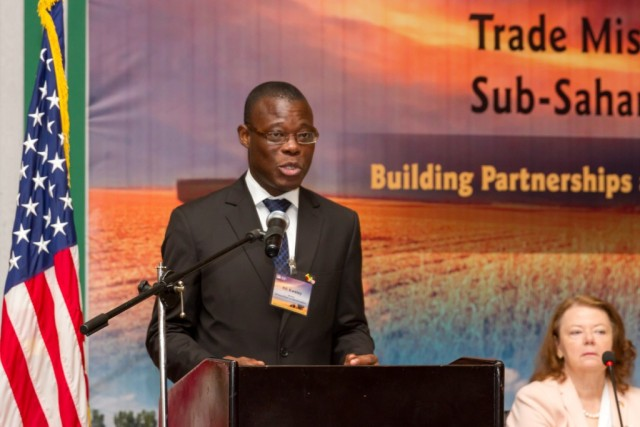 Minister Kwetey at the Opening Session