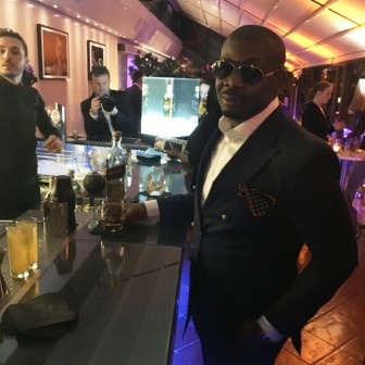 """Don Jazzy stride in a dapper suit at the official welcome cocktail party of """"Gentle Man's Wager II"""" première"""