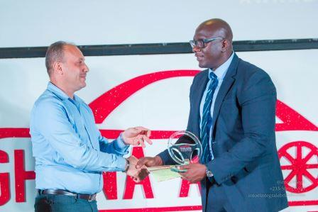 Cheki Ghana crowned as Online Auto Company of the year