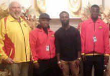 Ghana Weightlifting team