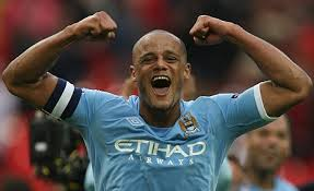 Manchester City captain, Vincent Kompany