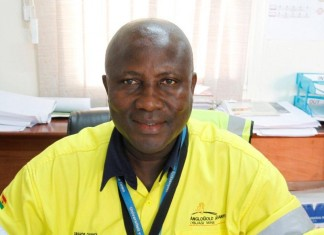 Francis Ghunney, Security Manager, Obuasi Mine