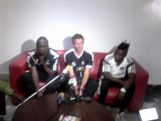 TP Mazembe players