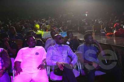 2Face Idebia from Nigeria seated at the just ended 4Syte TV Music Video Awards