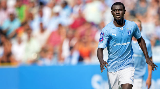 Adu Kofi was in action for Malmo FF