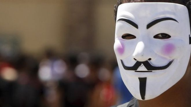 Anonymous promised to release data on 5 November