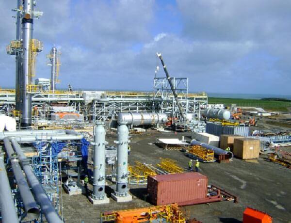 Gas-infrastructure