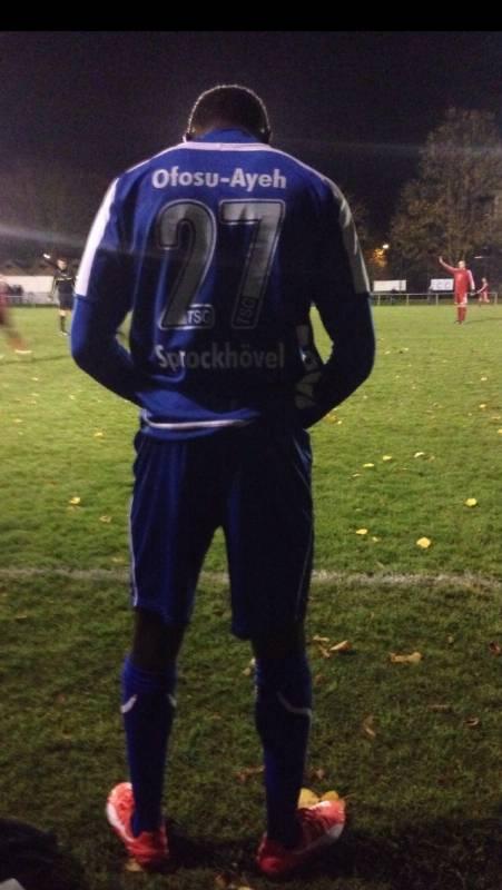 Ghanaian youngster Eugene Ofosu-Ayeh