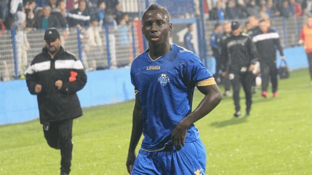 Samuel Owusu scored again in Serbia