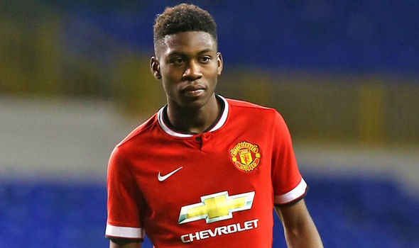 Timonthy Fosu-Mensah excelled in attack for Manchester United