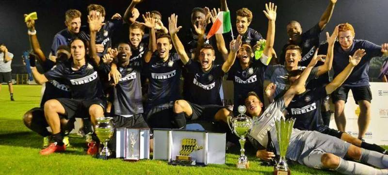 Victory with the Inter Primavera squad