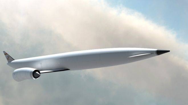 Reaction Engines' design concept for a space launch vehicle.