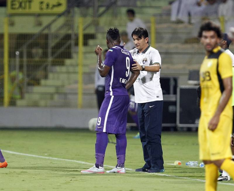 Zlatko Dalic has staunchly defended Emmanuel Emenike, asking Al Ain supporters to give the under-fire striker time to prove his worth, insisting it is not easy to replace their departed Ghanaian striker Asamoah Gyan.