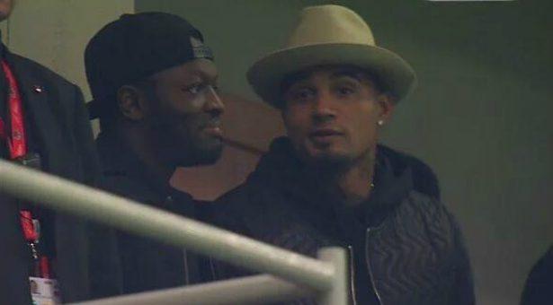 Muntari and Kevin-Prince Boateng