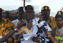 chief of Elmina, Nana Kojo Conduah