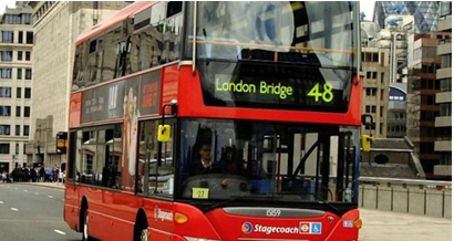 A third of London's buses will run on fuel made from meat from next year